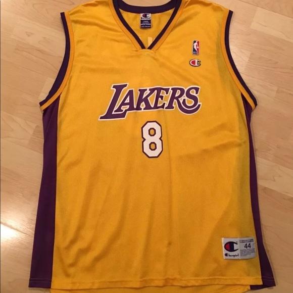 save off 0cce6 28be9 Champion LA Lakers Kobe Bryant Jersey Mens Size 44
